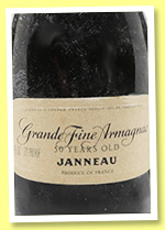 Jeanneau 50 ans (75°proof, OB, Armagnac, bottled 1960s)