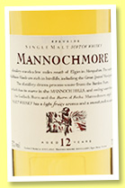 Mannochmore 12 yo (43%, OB, Flora and Fauna, +/-2005)