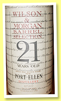 Port Ellen 21 yo 1976/1998 (46%, Wilson & Morgan, Barrel Selection)