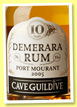 Port Mourant 10 yo 2005/2016 (55%, Cave Guildive, Guyana)
