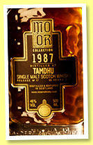 Tamdhu 23 yo 1987/2010 (46%, Mo Or Collection, sherry butt, cask #3649, 656 bottles)