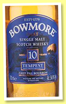 Bowmore 10 yo 'Tempest' (54.9%, OB, Batch #6, 2015)