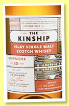 Bowmore 30 yo (56.1%, Hunter Laing, The Kinship, refill hogshead, 507 bottles, 2017)