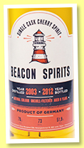 Cherry Spirit 2003/2012 (51.9%, Beacon Spirits, Germany)