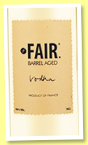 Fair 'Barrel aged vodka' (40%, Fair, +/-2017)