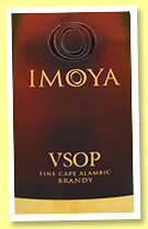 KMW Imoya 'VSOP' (40%, OB, Cape brandy, South-Africa, +/-2015)