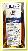 Savanna 10 yo 2006/2016 'HERR' (63.8%, OB, for La Maison du Whisky 60th Anniversary, La Réunion, cognac cask, cask #502, 686 bottles)
