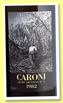 Caroni 23 yo 1982/2005 'light' (59.2%, Velier, Trinidad, 1227 bottles)