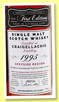 Craigellachie 21 yo 1995/2017 (59%, Hunter Laing, First Editions, sherry butt, cask #HL13305, 282 bottles)