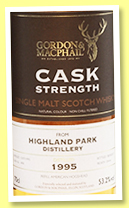 Highland Park 1995/2017 (53.2%, Gordon & MacPhail for The Whisky Exchange, refill hogshead, cask #1498, 251 bottles)