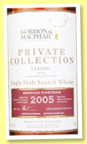 Ledaig 2005/2017 (45%, Gordon & MacPhail, Private Collection, Hermitage wood finish, 4,100 bottles)