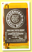 Linkwood-Glenlivet 24 yo 1992/2017 (50.9%, Cadenhead, Small Batch, hogsheads, 384 bottles)
