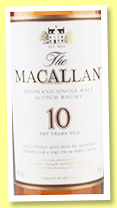Macallan 10 yo 'Sherry Oak' (40%, OB, +/-2017)