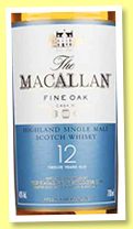 Macallan 12 yo 'Fine Oak' (40%, OB, +/-2017)