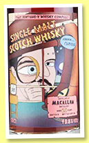 Macallan 25 yo (48.8%, That Boutique-y Whisky Company, batch #5, 126 bottles, +/-2017)