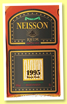 Neisson 1995/2014 (48%, OB for Velier and LMdW, Martinique, agricole, single cask, 290 bottles)