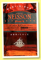 Neisson 'XO Full Proof' (54.2%, OB, Martinique, agricole, 2017)
