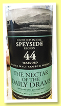 Speyside 44 yo 1973/2017 (52.2%, The Nectar of The Daily Drams)