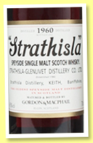 Strathisla 1960/2012 (43%, Gordon & MacPhail, Rare Vintage, sherry butt, re-issued 2017)