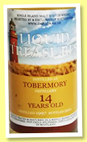 Tobermory 14 yo 1997/2011 (50%, Liquid Treasures, refill sherry)