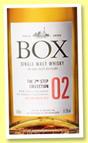 Box 'The 2nd Step Collection 02' (51.2%, OB, Sweden, 2016)