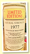 Caol Ila 1977/1996 (60%, Blackadder, Limited Editions, cask #4, 360 bottles)