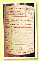 Clynelish 1971/1984 (no ABV, Gordon & MacPhail, sample bottle for Italy, cask #3842, warehouse #2)