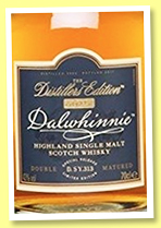 Dalwhinnie 2002/2017 'Distiller's Edition' (43%, OB, D. SY. 313)