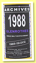 Glenrothes 1988/2012 (53.4%, Archives, refill sherry hogshead, cask #7318)