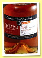 Guadeloupe 14 yo (47.1%, Single Cask Collection, Solera System, 566 bottles, 2017)