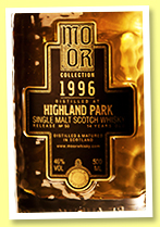 Highland Park 14 yo 1996/2010 (46%, Mo Or Collection, bourbon hogshead, cask #6457, 475 bottles)