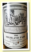 Highland Park 1966/1979 (75 proof, Berry Brothers)