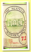 Longmorn 1972/1985 (62%, Scotch Malt Whisky Society, #7.2)
