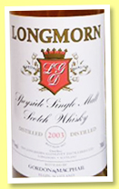 Longmorn 2003/2017 (43%, Gordon & MacPhail, licensed bottling)
