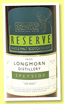 Longmorn 43 yo 1968/2011 (55.4%, Gordon & MacPhail Reserve for Van Wees, first fill sherry butt, cask #909, 523 bottles)