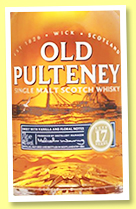 Old Pulteney 17 yo (40%, OB, +/-2017)