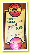 Panama 9 yo 2008/2017 (46%, Cadenhead, Green Label, barrel)