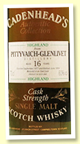 Pittyvaich-Glenlivet 16 yo 1977/1994 (60%, Cadenhead Authentic Collection)