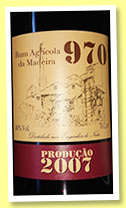 Rum 970 2007/2016 (40%, OB, Portugal, Madeira, agricole)