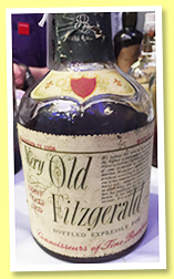 Very Old Fitzgerald 8 yo 1958/1966 (43%, OB, for Germany, Kentucky Straight Bourbon)