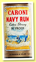 Caroni 2000/2018 'Navy Rum Extra-Strong' (51.4%, La Maison and Velier, 100th anniversary, Trinidad)