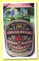 Chivas Regal 12 yo (86° US proof, OB, USA, blend, +/-1953)