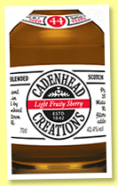 Creations Blend 44 yo 1973/2018 (43.4%, Cadenhead, hogshead, 346 bottles)
