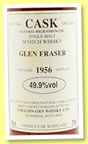 Glen Fraser 1956 (49.9, Gordon & MacPhail for Strathnairn Whisky ltd., +/-1992)