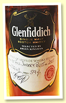 Glenfiddich 2003/2017 (59%, OB for Spirit Of Speyside festival, fresh sherry butt, cask #33643, 356 bottles)