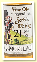Mortlach 21 yo (40%, Gordon & MacPhail for Sestante, 1990s, 70cl)