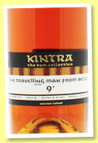 The Travelling Man from Belize 9 yo 2007/2017 (66.4%, Kintra, Belize, cask #44, 265 bottles)