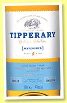 Tipperary 'Watershed' (47%, OB, Irish, single malt, +/-2018)