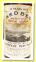 Ardbeg 18 yo 'Special Liqueur' (91.3° US proof, OB, USA, Kraus Import New York, 4/5 quart, 1930s)