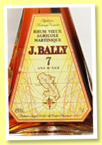 J. Bally 7 yo (45%, OB, Martinique, agricole, +/-2018)